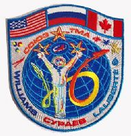 Soyuz TMA-16 Official Mission Patch